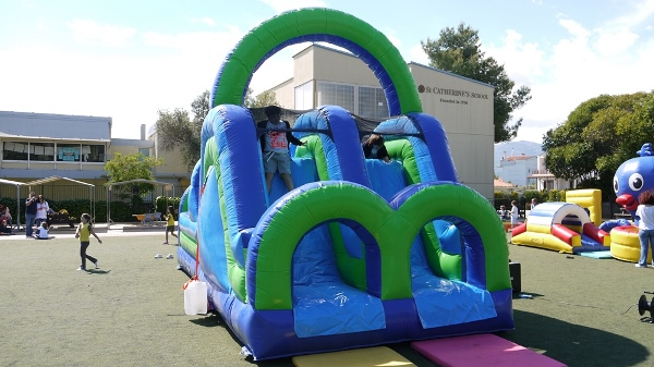 best green blue inflatable-a
